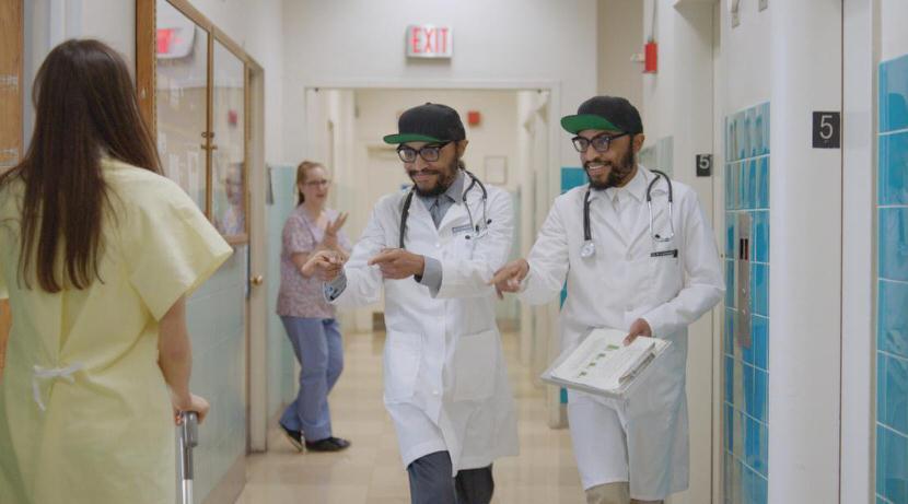 cool young black doctors — trutv