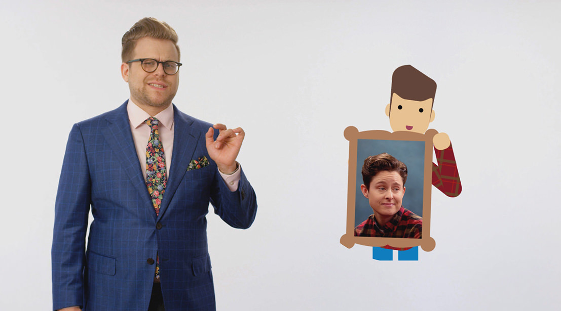 Adam Ruins Christmas.Is Rhea Butcher Your Real Sister Adam Ruins Everything